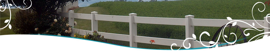 Wisconsin Vinyl Fence and Deck Photo Gallery